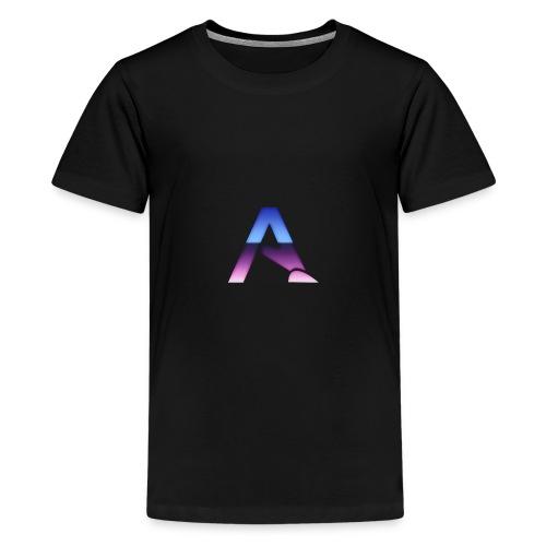 logga 3 - Premium-T-shirt tonåring