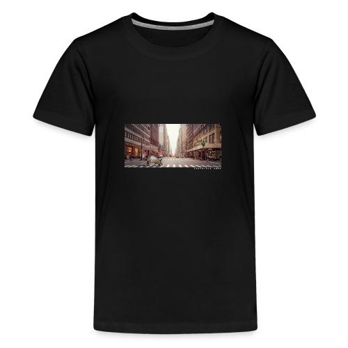 Tatou EasyRiser blanc - T-shirt Premium Ado