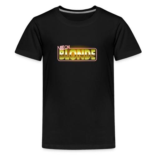 NB Logo - Teenage Premium T-Shirt