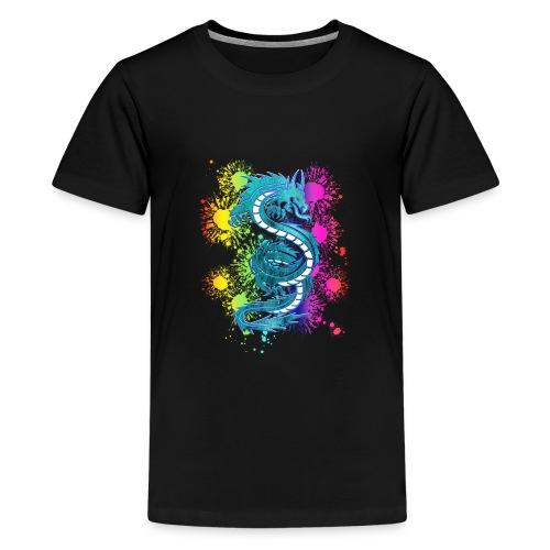 drache2 - Teenager Premium T-Shirt