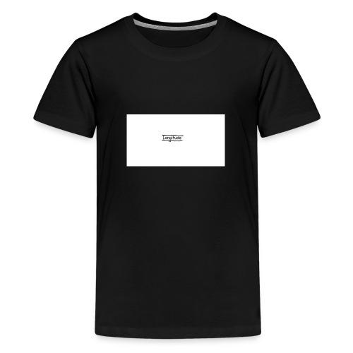 longitude - Teenage Premium T-Shirt