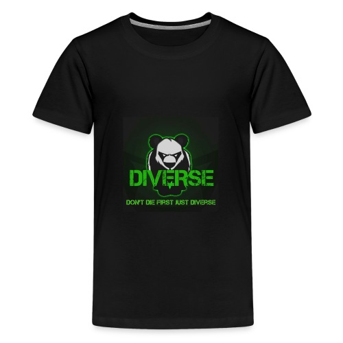 Diverse Logo - Teenage Premium T-Shirt