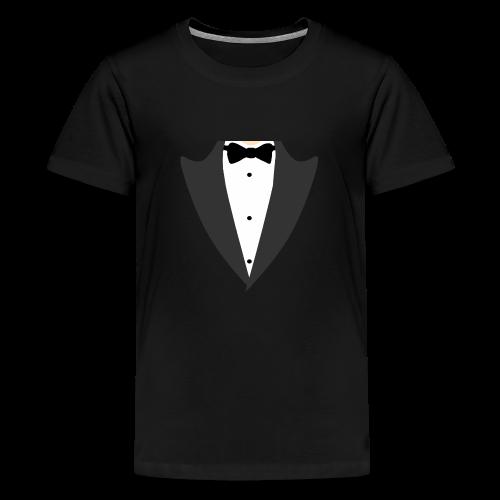 Smoking Tshirt - Premium-T-shirt tonåring