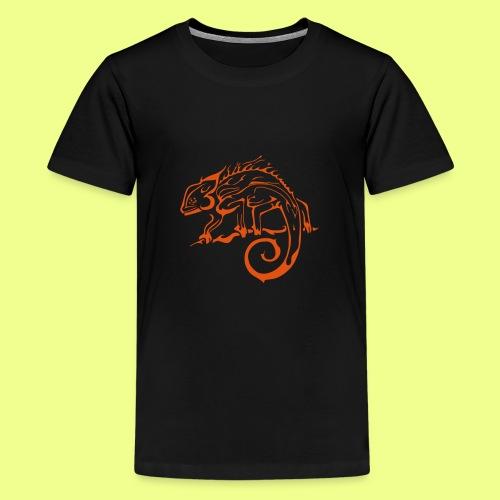 iguana - Camiseta premium adolescente