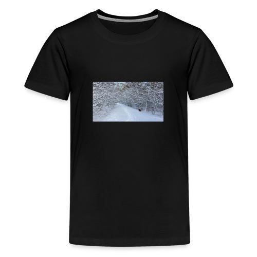 Winter ohne Leben - Teenager Premium T-Shirt