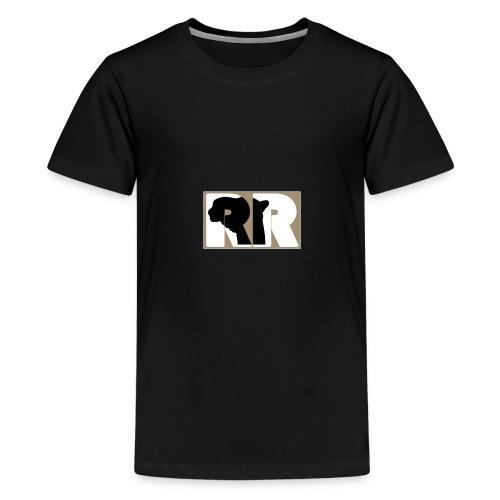 Letter Shape - Teenager Premium T-Shirt