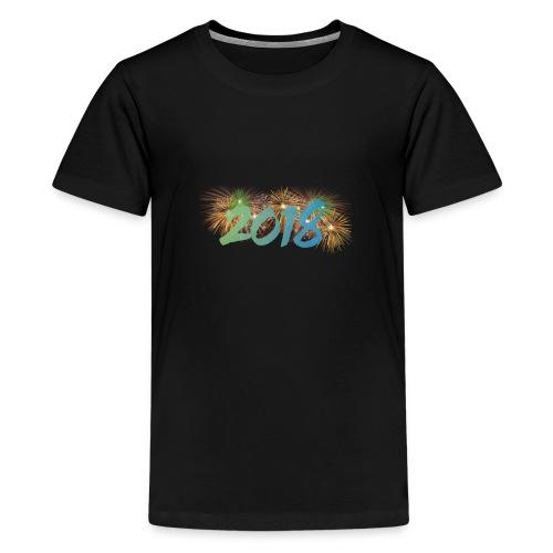 Joyeux Année 2018 - T-shirt Premium Ado