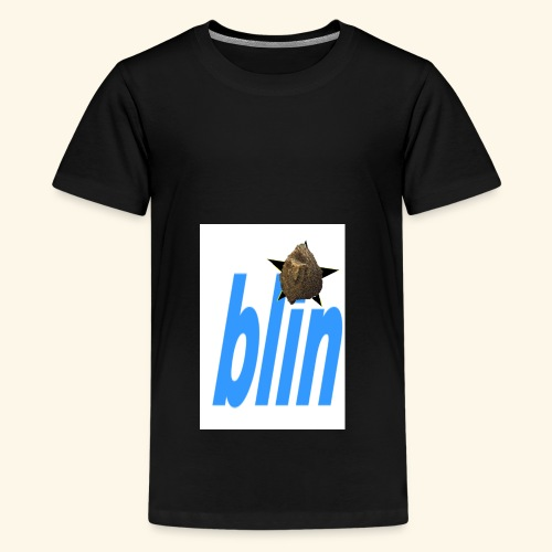 blinfont - Teenage Premium T-Shirt