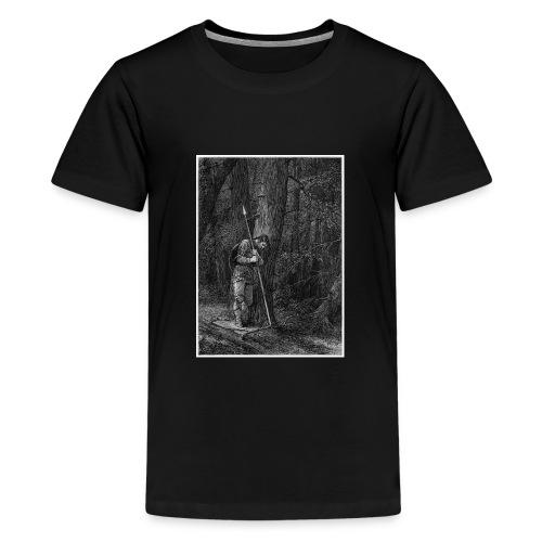 Lonely Warrior - Teenager Premium T-Shirt