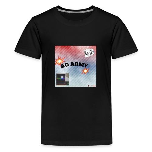 AG ARMY BG IS HERE!!!!!!!!!!!!!!! - T-shirt Premium Ado