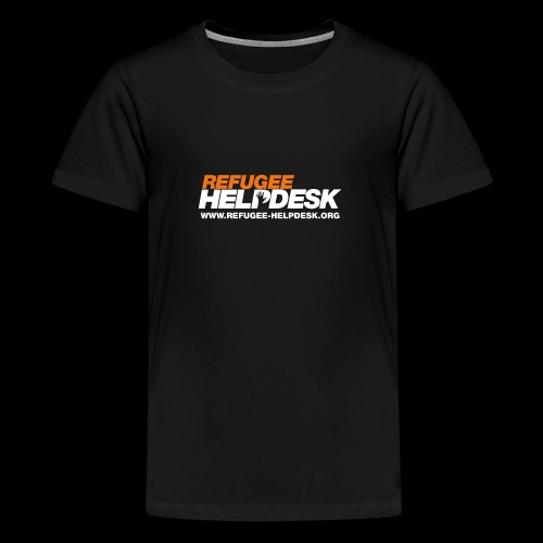 Refugee Helpdesk Logo (Bright) - Teenager Premium T-Shirt