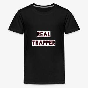 REAL TRAPPER - Teenage Premium T-Shirt
