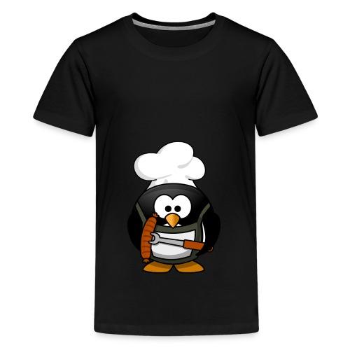 Chefkoch Pinguin! Geschenkidee Geschenk Idee - Teenager Premium T-Shirt
