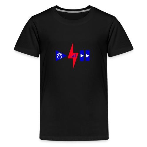 Luis Cid R - Camiseta premium adolescente