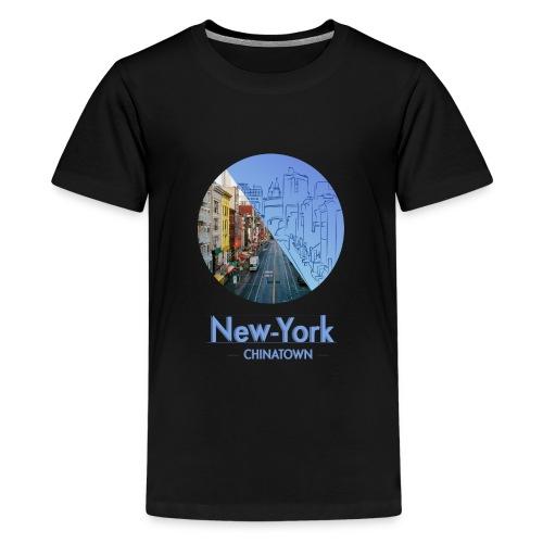 New-York Chinatown - T-shirt Premium Ado