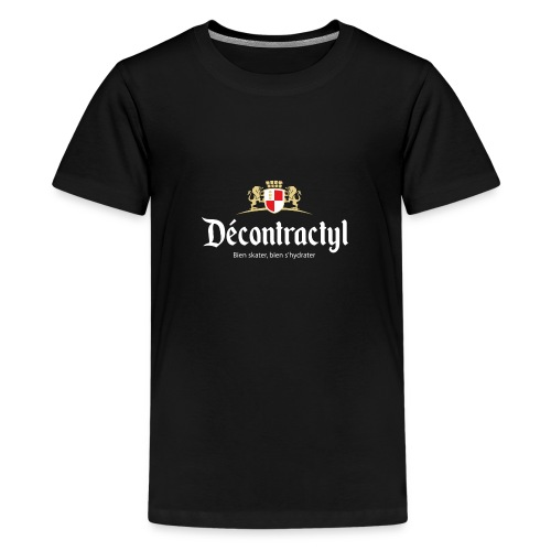 skateboard decontractyl - T-shirt Premium Ado