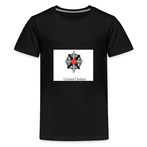 United clothes Logo - Teenager Premium T-shirt