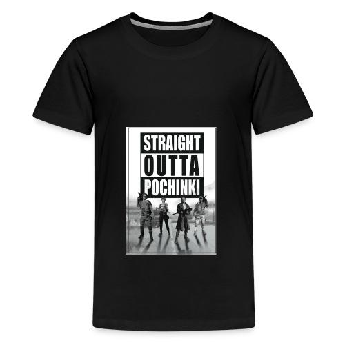pochinki is my city - Teenager Premium T-shirt