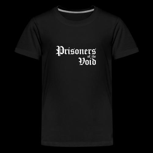 Prisoners of the Void - Premium T-skjorte for tenåringer