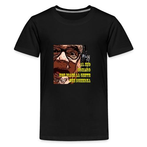 Caro Carlo mio somaro - Maglietta Premium per ragazzi
