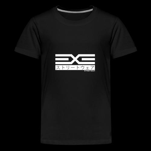 EXE Steetwear white - Teenager Premium T-Shirt