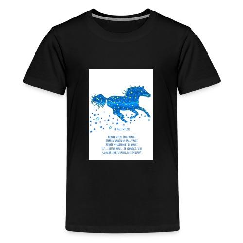 Kindershirt Nachtmerrie - Teenager Premium T-shirt