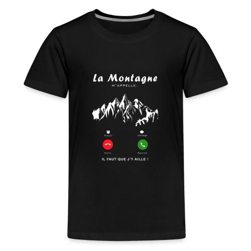 montagne - T-shirt Premium Ado