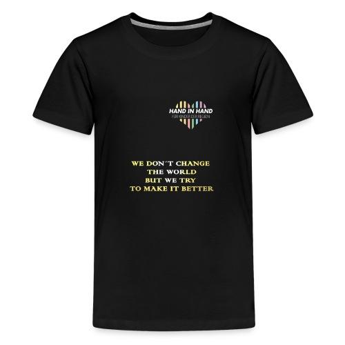 shirts Mitglieder shirtnator - Teenager Premium T-Shirt