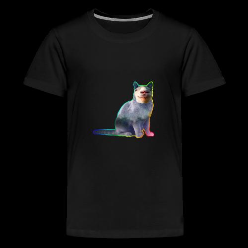 Getkatt - Premium-T-shirt tonåring