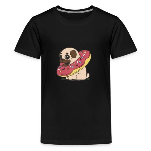Cutie pug - T-shirt Premium Ado
