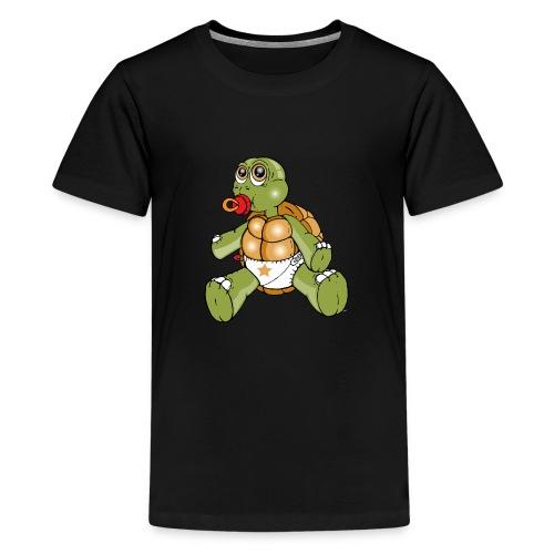 TURTLE TODDLER - Teenage Premium T-Shirt