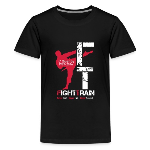 Fight Train 'The Collection' Range - Teenage Premium T-Shirt
