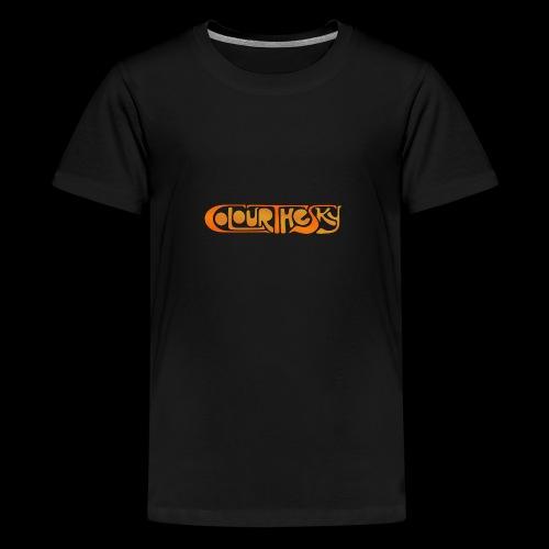 Colour The Sky Logo - Teenager Premium T-Shirt