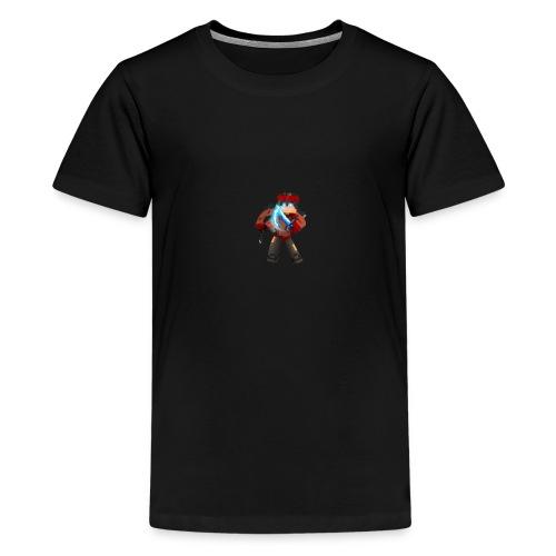 Skin Von N-Octan Minecraft - Teenager Premium T-Shirt