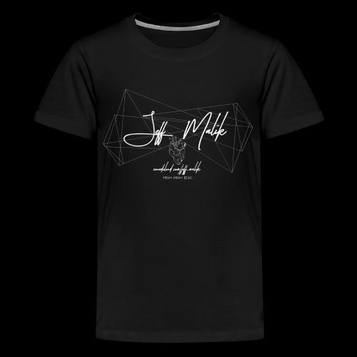 logo komplett 2 0 skaliert - Teenager Premium T-Shirt