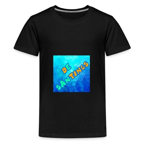De Santings Logo - Teenager Premium T-shirt