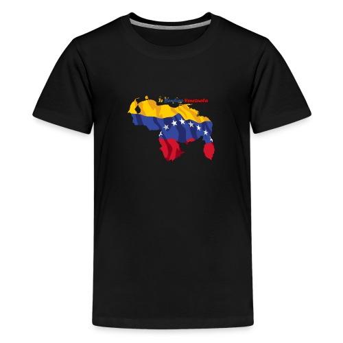 Bandera de Venezuela - Camiseta premium adolescente