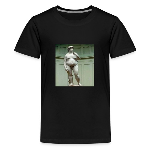 kong david - Teenager premium T-shirt