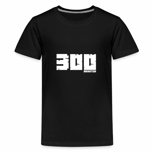 BrixxtoN 300 Abo Weiss - Teenager Premium T-Shirt
