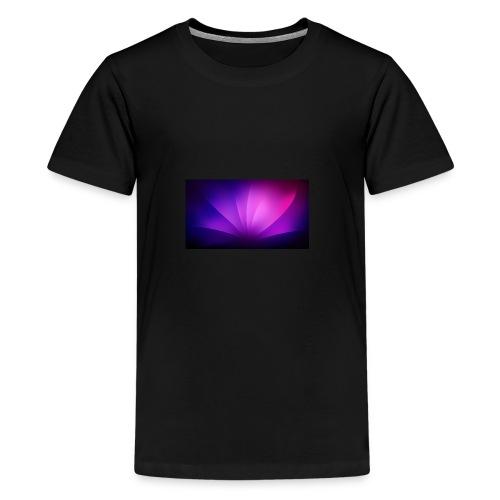 Der Gamer King lol ä - Teenager Premium T-Shirt