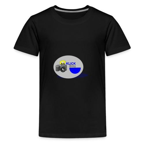 Klick Blitz - Teenager Premium T-Shirt