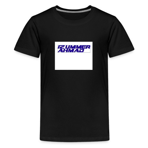izummerahmad - Teenage Premium T-Shirt