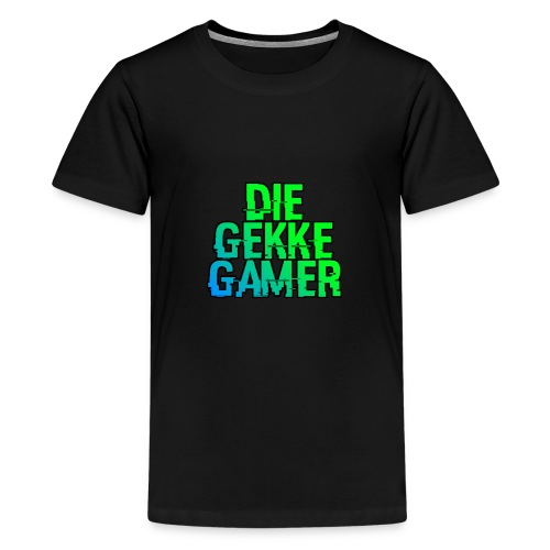 DieGekkeGamer. - Teenager Premium T-shirt