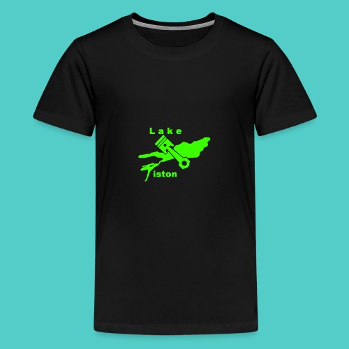 Lakepiston Kollektion II Grün - Teenager Premium T-Shirt