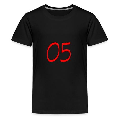05 nummer - Teenager Premium T-Shirt
