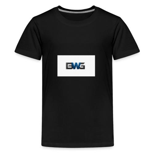 Bwg - Teenage Premium T-Shirt