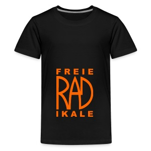Freie RADikale Logo orange - Teenager Premium T-Shirt
