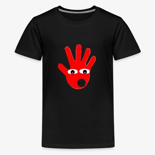 Hände mit Augen - T-shirt Premium Ado