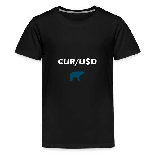 Forex Bear - Teenager Premium T-Shirt