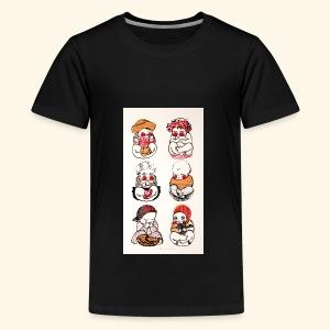Babies - Teinien premium t-paita